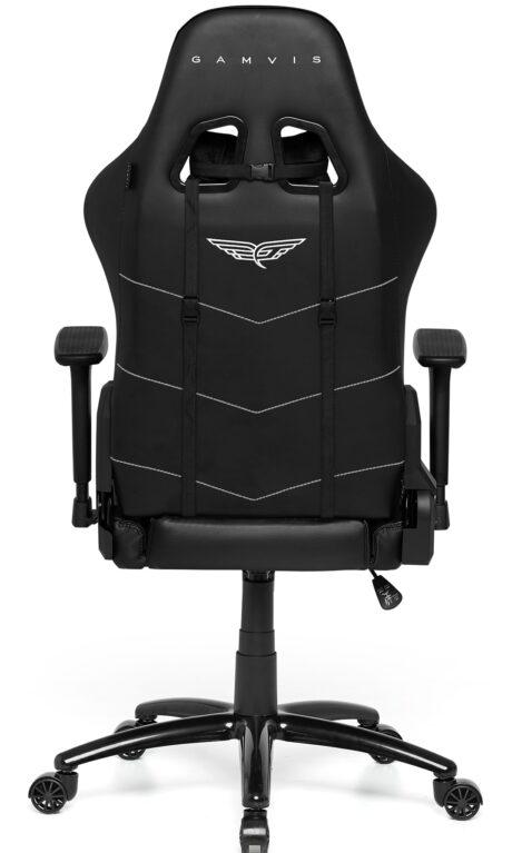 Materiałowy Fotel gamingowy Gamvis Phantom Czarny 2