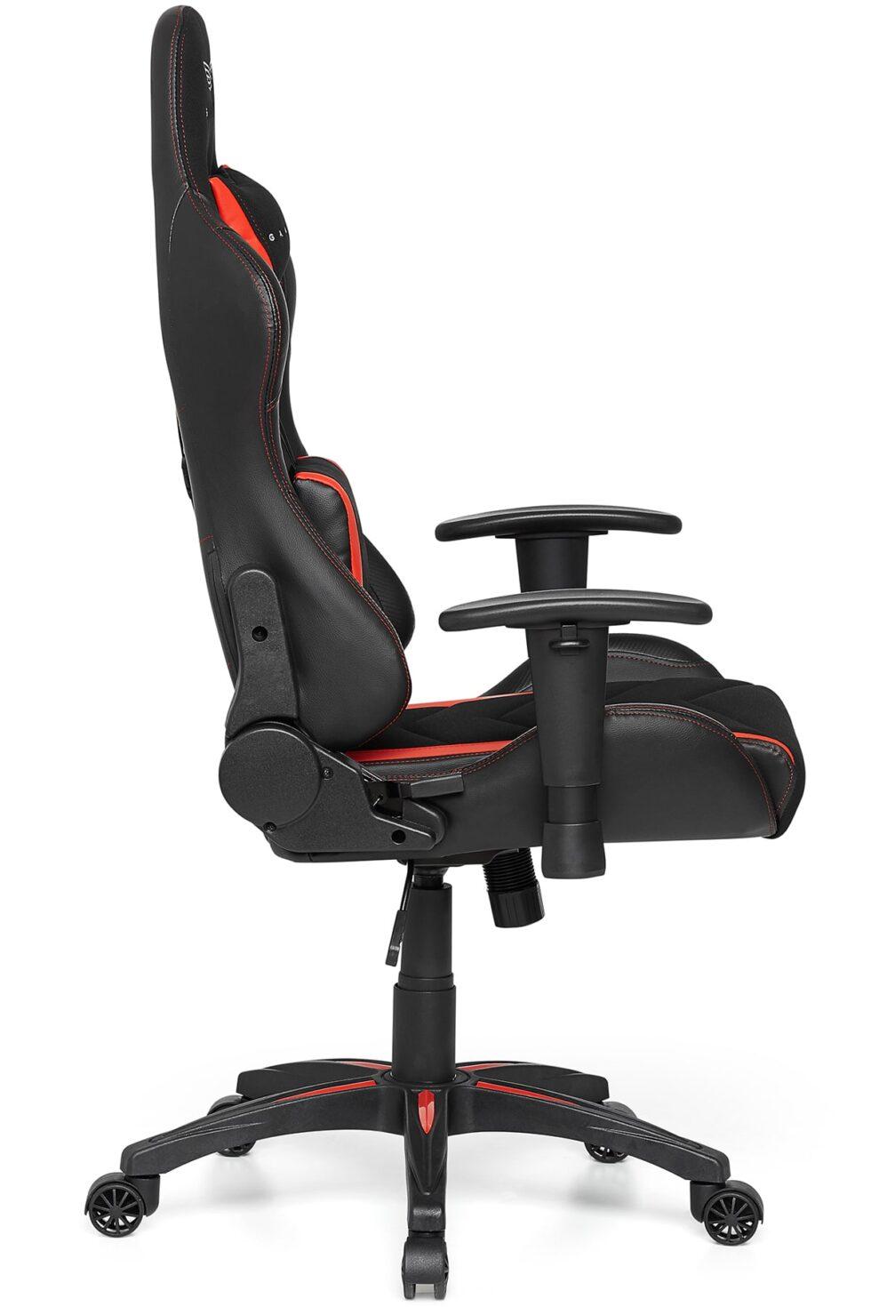 Materiałowy Fotel Gamingowy Gamvis EXPERT Czerwony