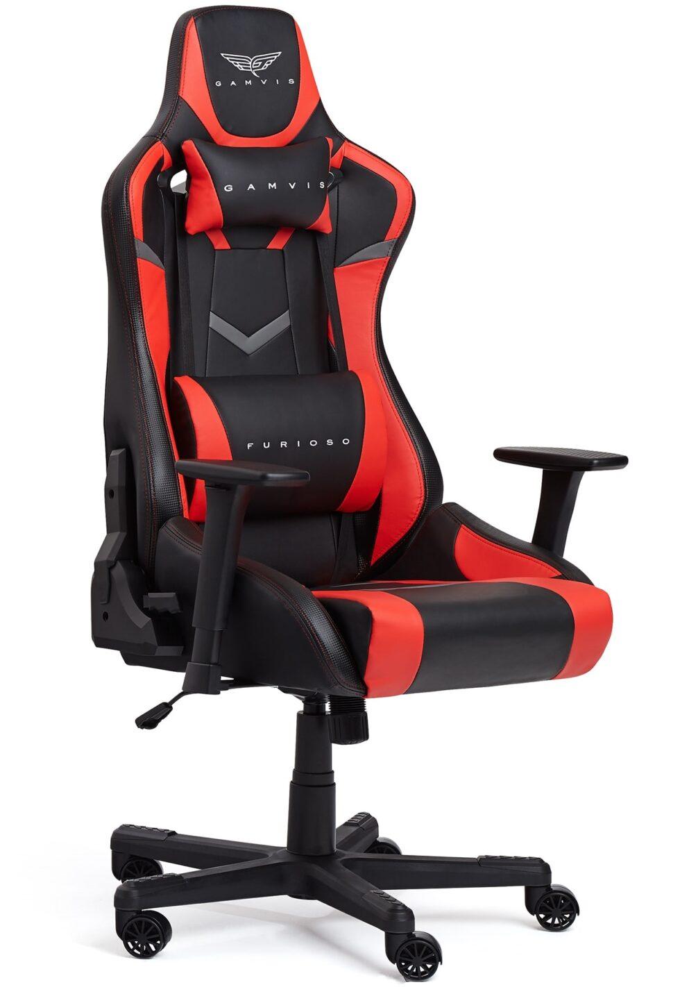 Fotel Gamingowy Gamvis FURIOSO Czerwony