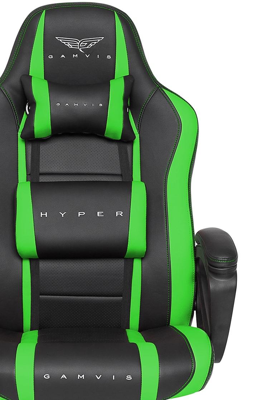 Fotel Gamingowy Gamvis HYPER Zielony