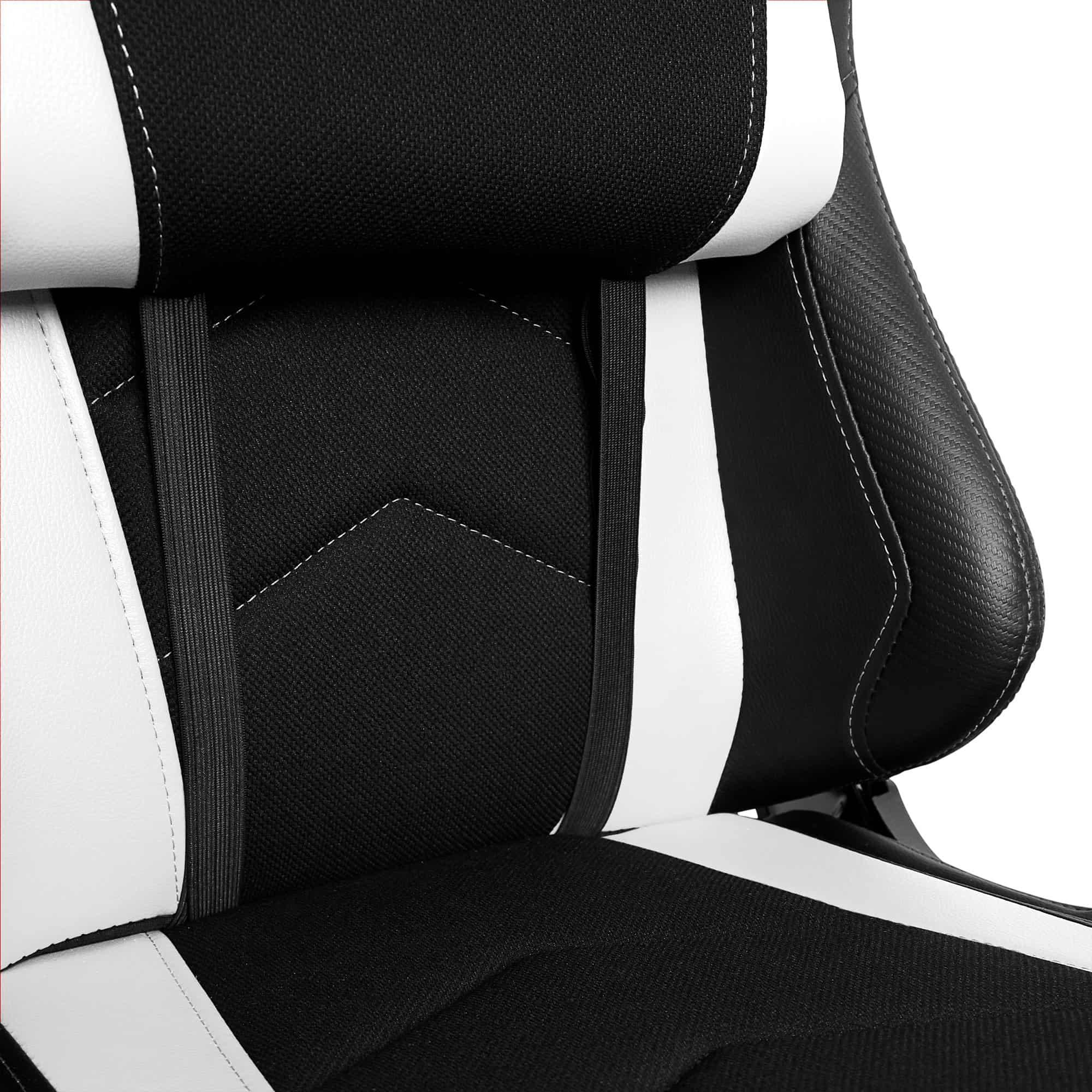 Materiałowy Fotel gamingowy Gamvis Expert Biały 3