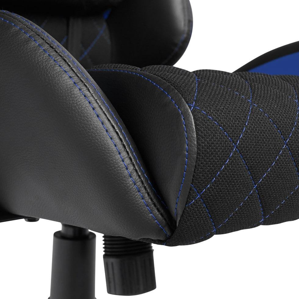Materiałowy Fotel gamingowy Gamvis Phantom Niebieski 4