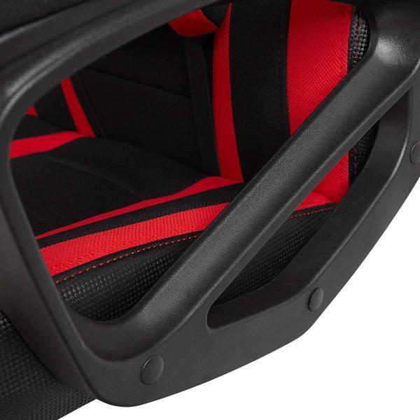 Materiałowy Fotel Gamingowy Gamvis Hyper Czerwony Tkanina 6