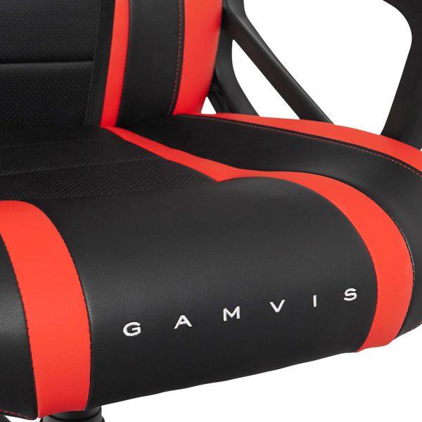 Fotel Gamingowy Gamvis Hyper Czerwony 6